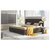 Polohovací postel GLORIA hnědá/béžová, 180x200 cm 2