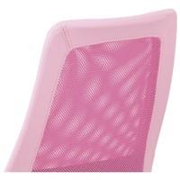 Kancelářská židle GLORY růžová 5