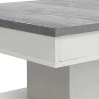 Konferenční stolek GRANNY bílá matná/beton 5