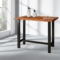 Barový stůl  GURU akácie/kov 2