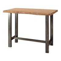 Barový stôl GURU akácia/kov 1