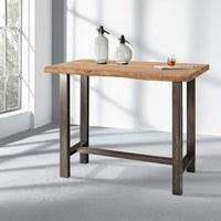 Barový stôl GURU akácia/kov 2