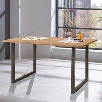 Jedálenský stôl GURU STONE, akácia, 140 cm 2