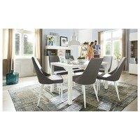 Jídelní židle HOWARD šedá 2