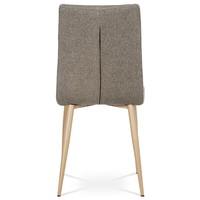 Jedálenská stolička IDA sivá/buk 2