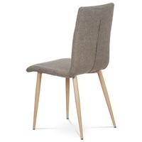 Jedálenská stolička IDA sivá/buk 3