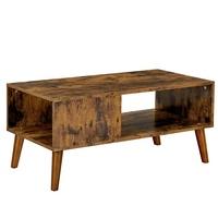 Konferenční stolek IMATRA černá/hnědá 1