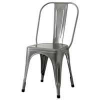 Jídelní židle IRON šedá/železo 1