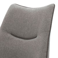 Jedálenská stolička ISLA svetlosivá 3