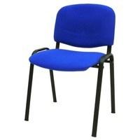Konferenční židle ISO modrá 1