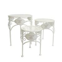 Zahradní stolek JARDINE ø 25 cm, výška 33 cm 2