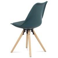 Jídelní židle JASMINA petrolejová 4