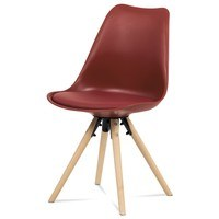 Jedálenská stolička JASMINA červená 1