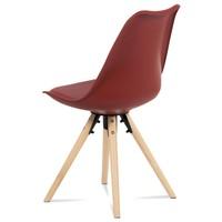 Jedálenská stolička JASMINA červená 4