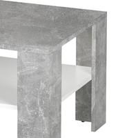 Konferenční stolek JOKER 66 beton/bílá 2