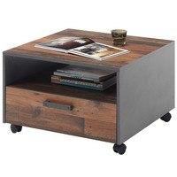 Konferenční stolek JONES antracitová/old style 1
