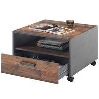 Konferenční stolek JONES antracitová/old style 3