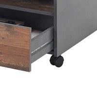 Konferenční stolek JONES antracitová/old style 5