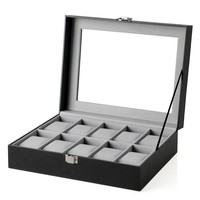 Krabička na hodinky JWB0 šedá 1