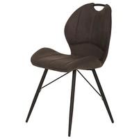 Jedálenská stolička KATE S antracitová 1