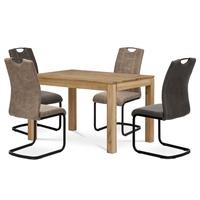 Jídelní stůl  KINGSTON dub, šířka 120 cm 2