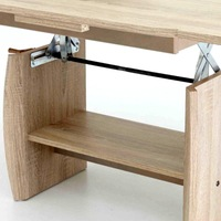 Konferenční stolek KIRK MINI dub sonoma 3