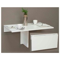 Sklápací stolík KLAPPI 1010 biela matná 2
