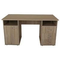 Písací stôl KUBA dub sonoma 1