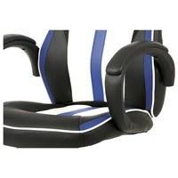 Kancelářská židle LAWRENCE modrá/černá/bílá 5