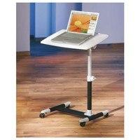PC stůl LEXON bílá/černá 2