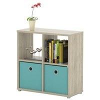 Regál/knižnica LITE RM22 dub sonoma 1