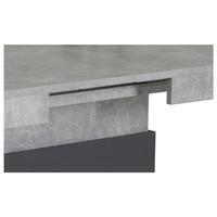 Jedálenský stôl LIZZY T betón/antracit 2