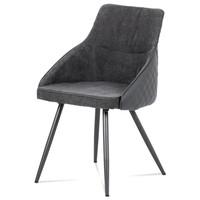 Jídelní židle LJUBA šedá 1