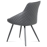 Jídelní židle LJUBA šedá 3