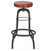 Barová židle LONDOS hnědá/černá 3