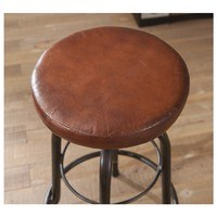 Barová židle LONDOS hnědá/černá 4