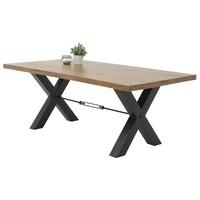 Jedálenský stôl LOTTE I T agát/čierna 1
