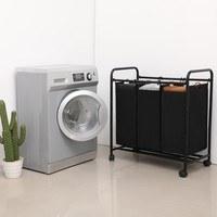 Koš na prádlo LSF003 černá 2