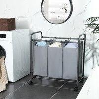 Koš na prádlo LSF003 šedá 2