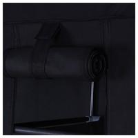 Látková šatní skříň LSF007 černá 4