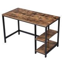 Psací stůl LWD47X černá/hnědá 1