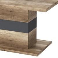 Konferenční stolek MADRAS dub canyon/antracitová 3