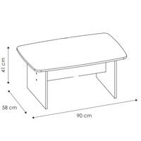 Konferenční stolek MAGIC dub sonoma 3