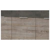 Komoda MERWIN dekor dub/beton 2