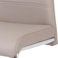 Jedálenská stolička MIA hnedá 3