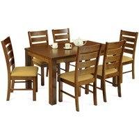 Jídelní židle MICHALA 1 ořech/písková 2