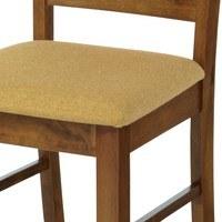 Jídelní židle MICHALA 1 ořech/písková 4