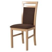 Jedálenská stolička MILAN 5 sonoma/hnedá 1