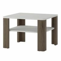 Konferenční stolek  MILANO alpská bílá/dub sanremo 1