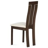 Jedálenská stolička MILENA orech/biela 2